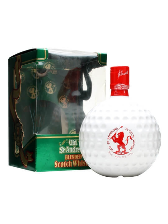 Old St. Andrews / Golf Ball Decanter Blended Scotch Whisky