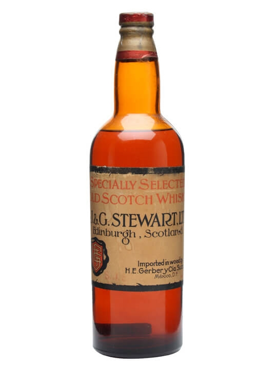J & G Stewart / Bot.1940s Blended Scotch Whisky