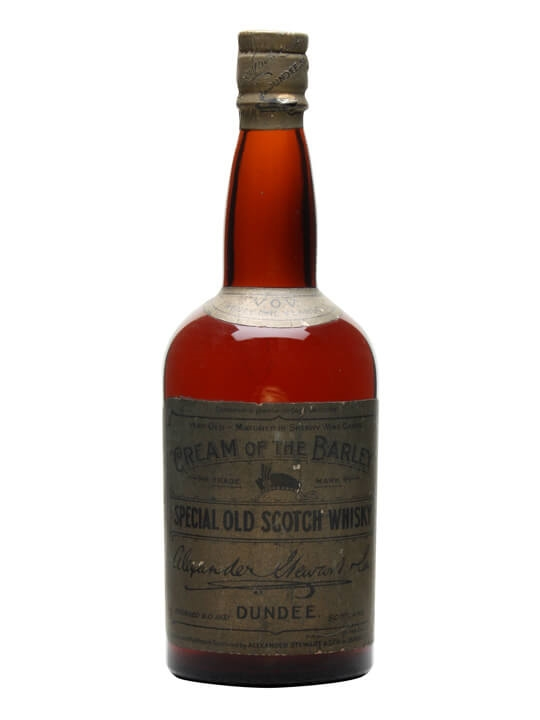 Stewart's Cream of the Barley 21 Year Old / Bot.1940s Blended Whisky