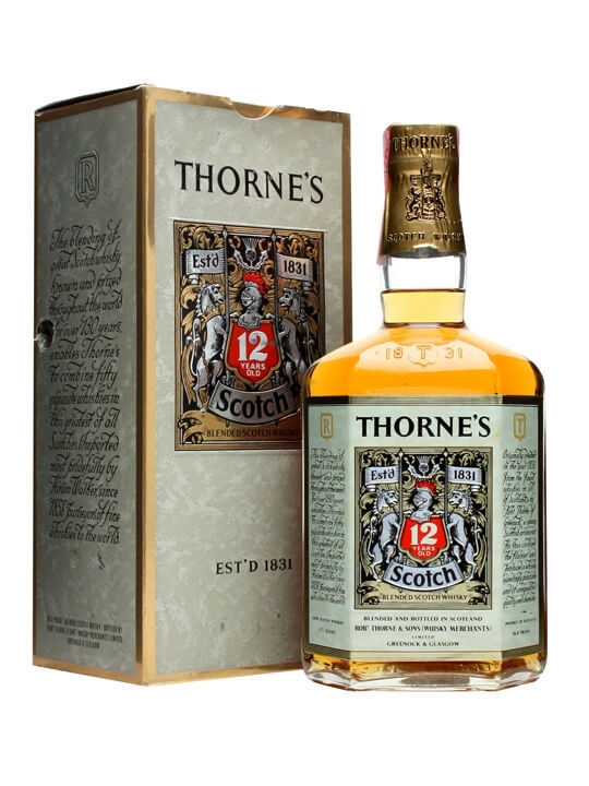 Thorne's 12 Year Old / Bot.1960s Blended Scotch Whisky