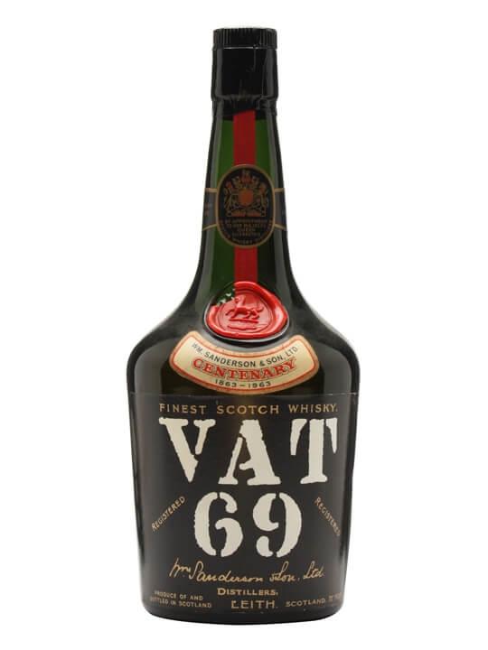 Vat 69 Centenary Blend / Bot.1960s Blended Scotch Whisky