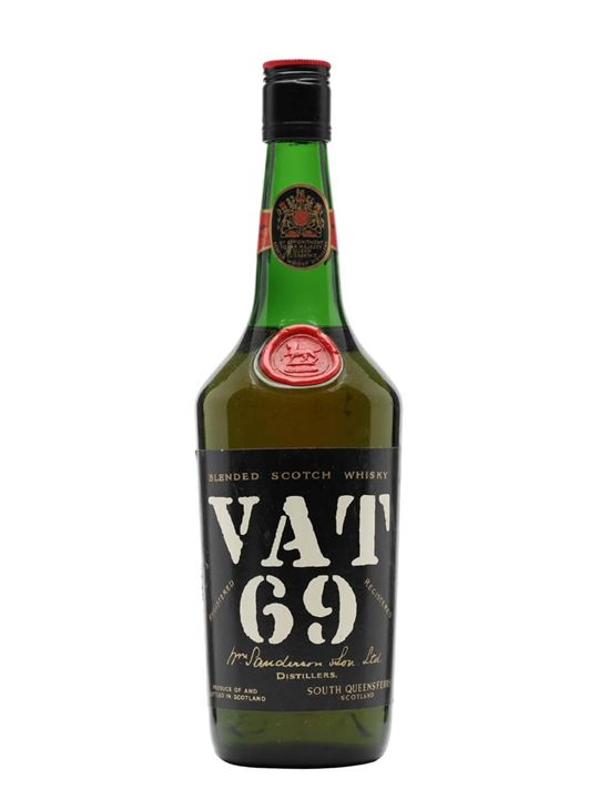 Vat 69 / Bot.1970s / Tall / Screwcap Blended Scotch Whisky