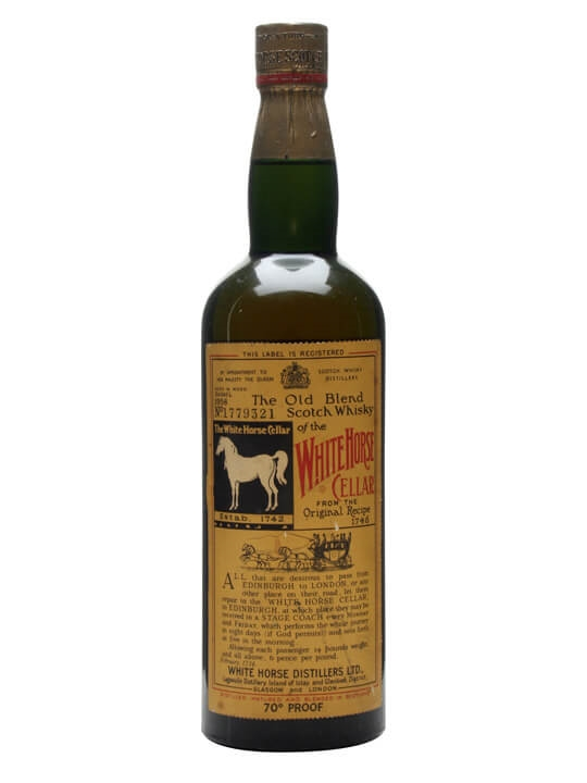 White Horse / Bot.1960s / Spring Cap Blended Scotch Whisky