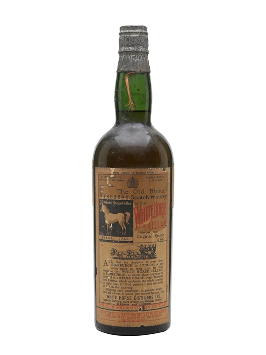 White Horse / Bot.1950s Blended Scotch Whisky