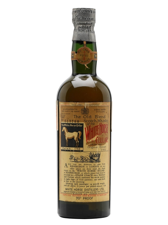 White Horse / Bot.1957 Blended Scotch Whisky