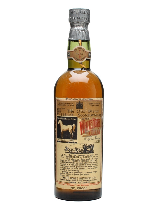White Horse / Bot.1948 Blended Scotch Whisky