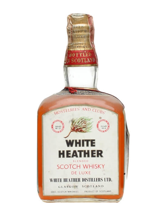 White Heather / Bot.1950s Blended Scotch Whisky