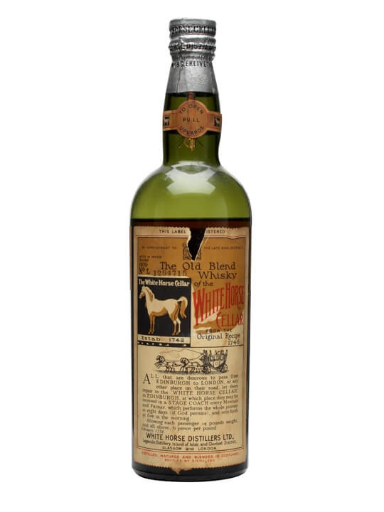 White Horse / Bot.1939 Blended Scotch Whisky