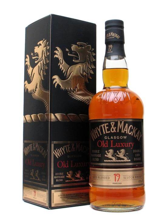 Whyte & Mackay 19 Year Old - Old Luxury Blended Scotch Whisky