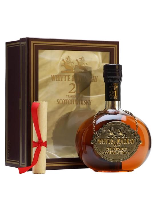 Whyte & Mackay 21 Year Old / Gold Medallion / Bot.1980s Blended Whisky