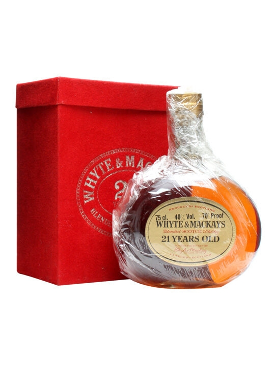 Whyte & Mackay 21 Year Old / Bot.1980s Blended Scotch Whisky