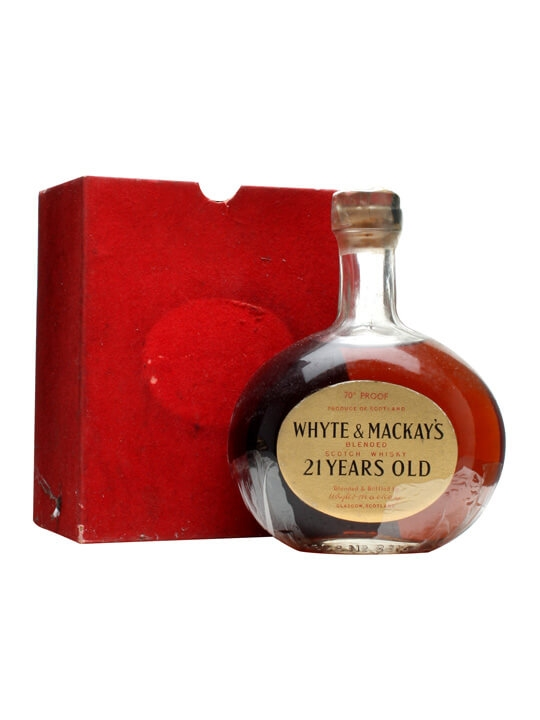 Whyte & Mackay 21 Year Old / Bot.1970s Blended Scotch Whisky