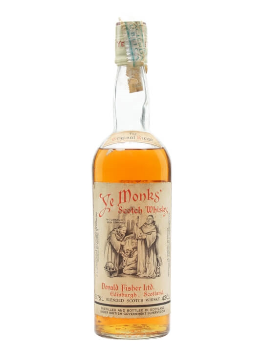 Ye Monks / Bot.1960s Blended Scotch Whisky