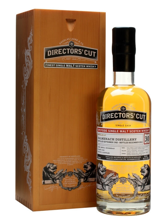 Balmenach 1983 / 30 Year Old / Douglas Laing Director's Cut Speyside Whisky