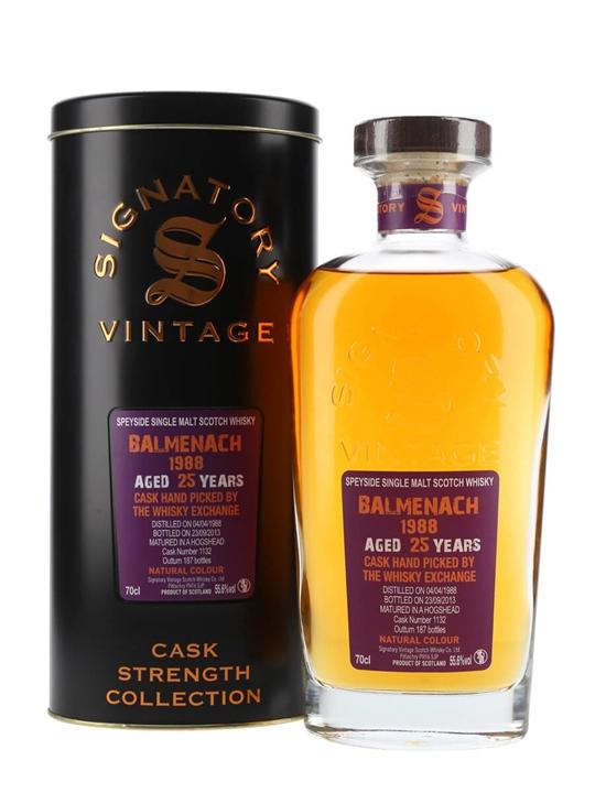 Balmenach 1988 / 25 Year Old / Cask #1132 / Signatory Speyside Whisky
