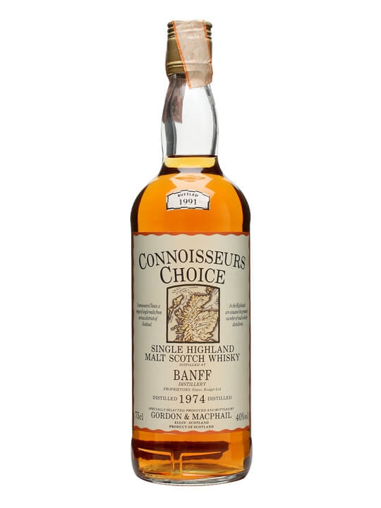Banff 1974 / Bot.1991 / Connoisseurs Choice Speyside Whisky
