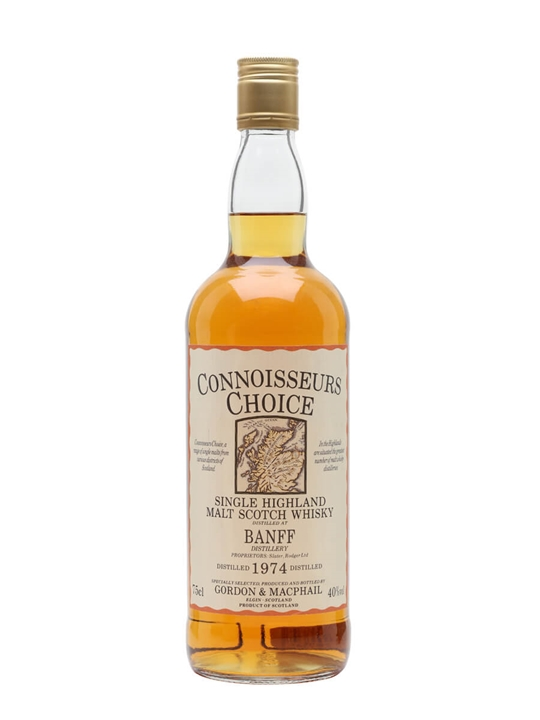 Banff 1974 / Bot.1980s / Connoisseurs Choice Speyside Whisky
