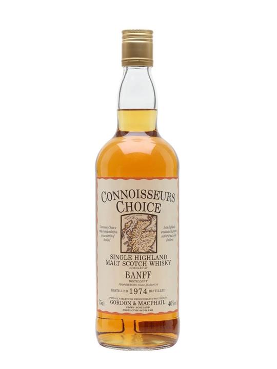 Banff 1974 / Bot.1980s / Connoisseurs Choice Speyside Whisky