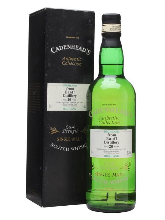 Banff 1976 / 20 Year Old / Cadenhead's Speyside Whisky