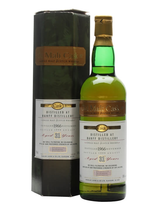 Banff 1966 / 31 Year Old Speyside Single Malt Scotch Whisky