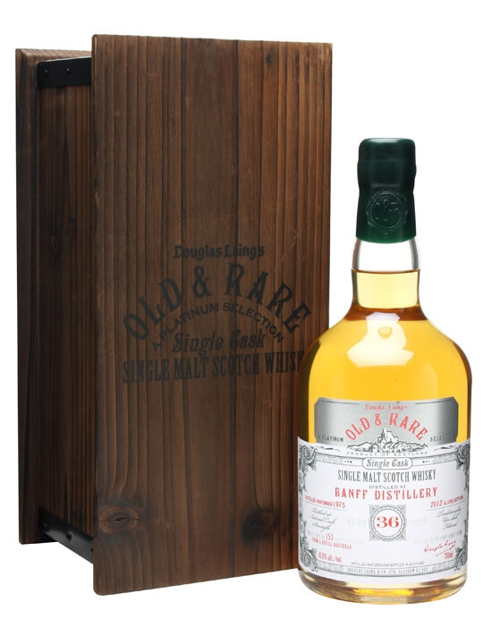 Banff 1975 / 36 Year Old / Old & Rare Speyside Whisky