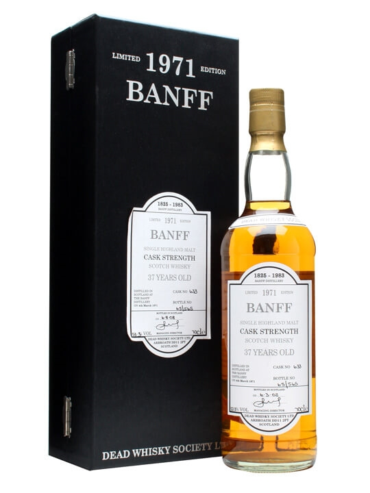 Banff 1971 / 37 Year Old Speyside Single Malt Scotch Whisky