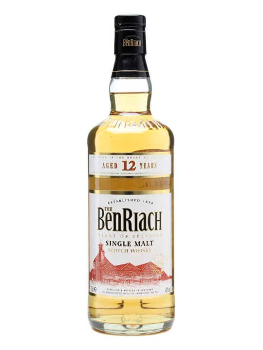 Benriach 12 Year Old Speyside Single Malt Scotch Whisky
