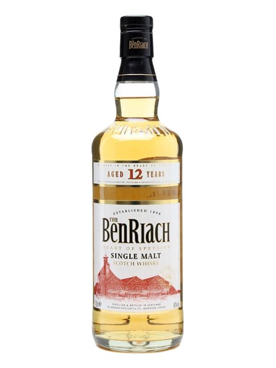 Benriach 12 Year Old Speyside Single Malt Scotch Whisky
