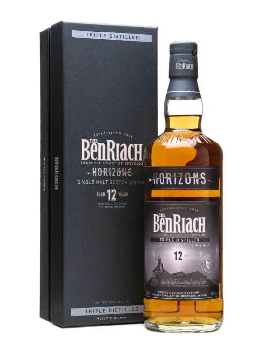 Benriach Horizons 12 Yo / Triple Distilled / Sherry Finish Speyside Whisky