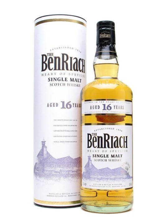 Benriach 16 Year Old Speyside Single Malt Scotch Whisky