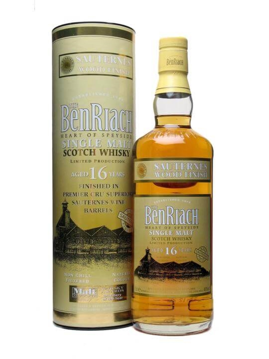 Benriach 16 Year Old / Sauternes Finish Speyside Whisky