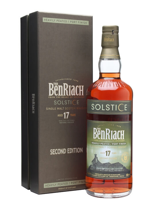 Benriach 17 Year Old / Solstice 2 / Peated / Port Finish Speyside Whisky