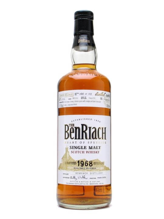 Benriach 1968 / 36 Year Old / Cask #2708 Speyside Whisky