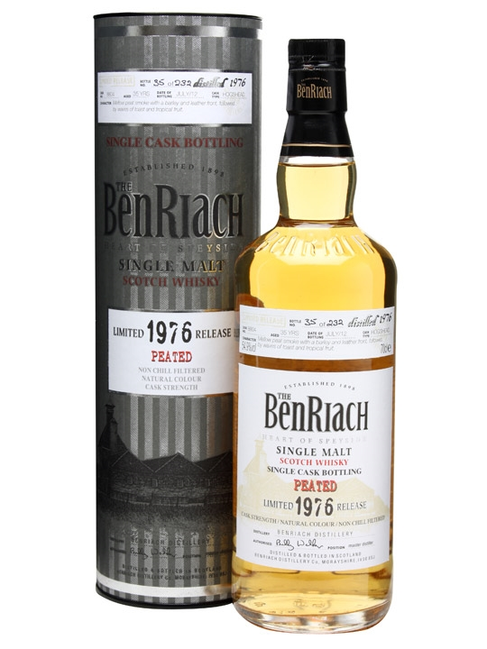 Benriach 1976 / 35 Year Old / Peated Speyside Whisky