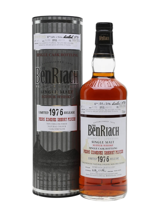 Benriach 1976 / 35 Year Old /pedro Ximenez Sherry Finish Speyside Whisky