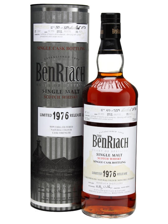 Benriach 1976 / 35 Year Old / Cask #6967 Speyside Whisky