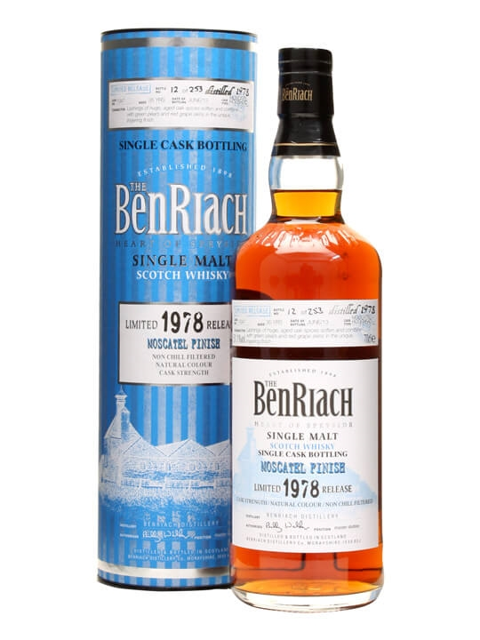 Benriach 1978 / 35 Year Old / Moscatel Finish / Cask #1047 Speyside Whisky