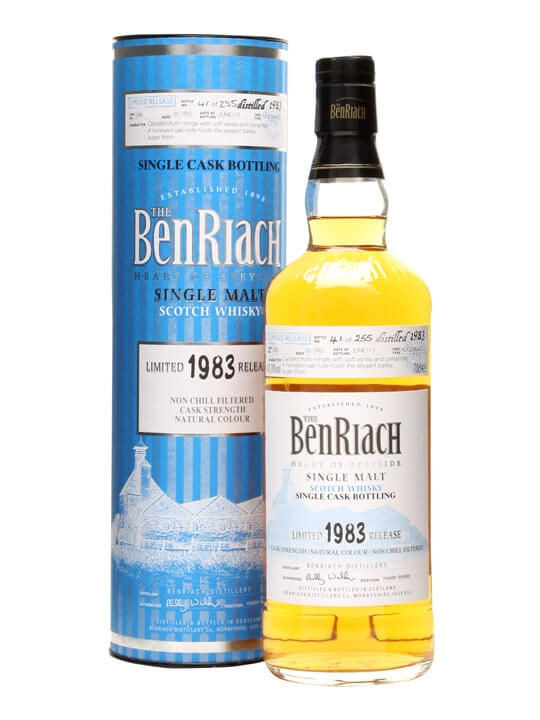 Benriach 1983 / 30 Year Old / Cask #296 Speyside Whisky