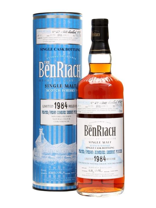 Benriach 1984 / 28 Year Old / Peated Px Finish / Cask #1051 Speyside Whisky