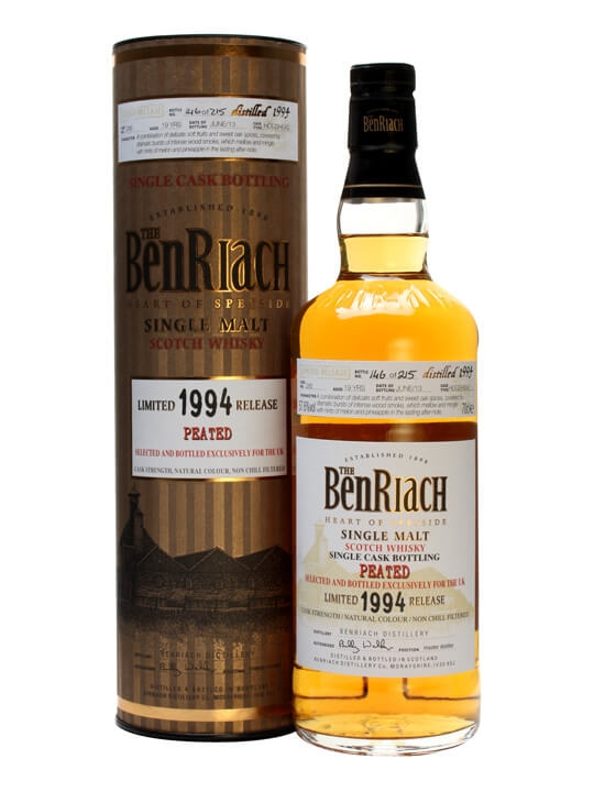 Benriach 1994 / 19 Year Old / Cask #286 / Peated Speyside Whisky