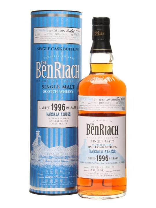 Benriach 1996 / 17 Year Old / Marsala Finish / Cask #10306 Speyside Whisky