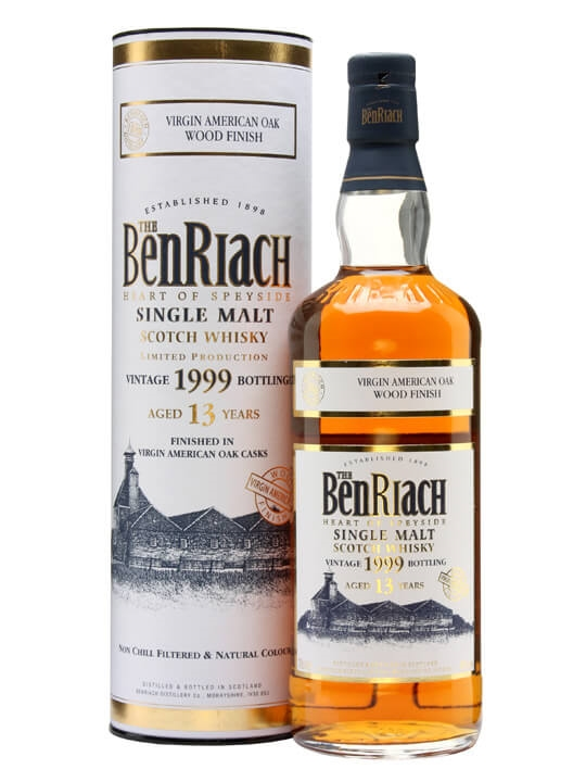 Benriach 1999 / 13 Year Old / Virgin Oak Finish Speyside Whisky