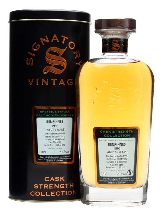 Benrinnes 1995 / 16 Year Old / Cask #5885 Speyside Whisky