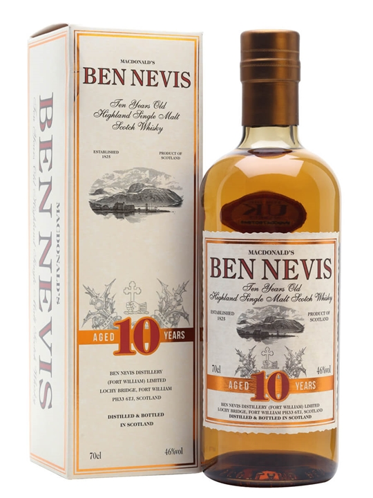 Ben Nevis 10 Year Old Highland Single Malt Scotch Whisky