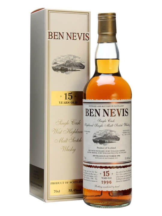 Ben Nevis 1996 / 15 Year Old / Sherry Cask #1652 Highland Whisky