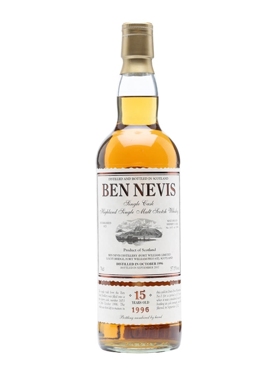 Ben Nevis 1996 / 15 Year Old / Sherry Cask #1653 Highland Whisky