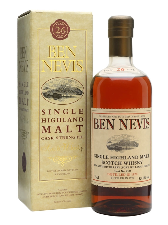 Ben Nevis 1970 / 26 Year Old / Cask #4534 Highland Whisky