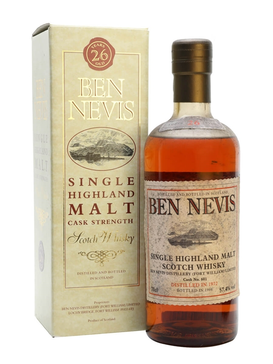 Ben Nevis 1972 / 26 Year Old / Cask #601 Highland Whisky