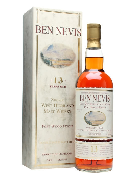 Ben Nevis 1990 / 13 Year Old / Port Wood Finish Highland Whisky