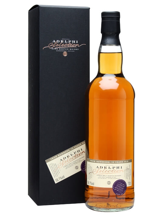 Bowmore 2000 / 12 Year Old / Cask #1882 / Adelphi Islay Whisky